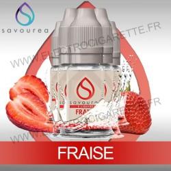 Pack 5 flacons 10 ml Fraise - Savourea