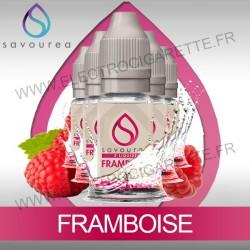 Pack 5 flacons 10 ml Framboise - Savourea