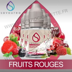 Pack 5 flacons 10 ml Fruits Rouges - Savourea