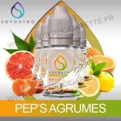 Pack 5 flacons 10 ml Pep's Agrumes - Savourea