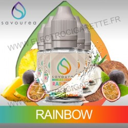 Pack 5 flacons 10 ml Rainbow - Savourea