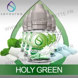 Pack 5 flacons 10 ml Holy Green - Savourea