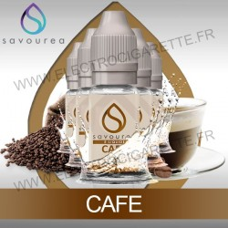 Pack 5 flacons 10 ml Cafe - Savourea