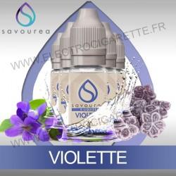 Pack 5 flacons 10 ml Violette - Savourea