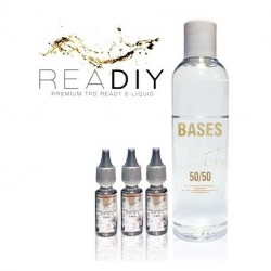 Kit TPD Ready DiY 200 ml - 0/3/6 mg - 50% PG / 50% VG - Readiy