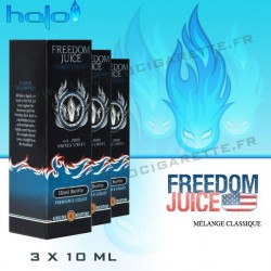 Halo Freedom Juice - 3x10ml