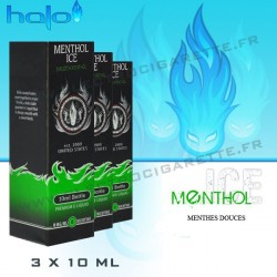Halo Menthol ICE - 3x10ml