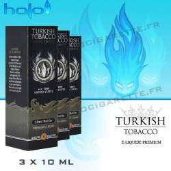 Halo Turkish Tobacco - 3x10ml