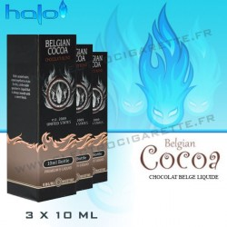 Halo Belgian Cocoa - 3x10ml