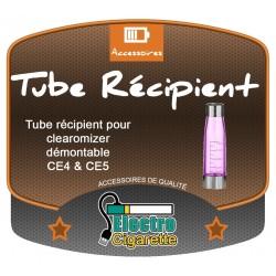 Tube récipient pour clearomizer CE4