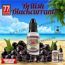 British Blackcurrant - 77 Flavor - 10 ou 30 ml