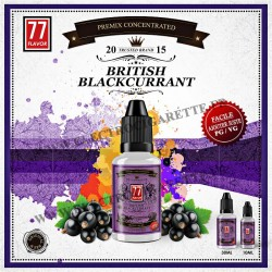 British Blackcurrant Premix - 77 Flavor - 10 ou 30 ml