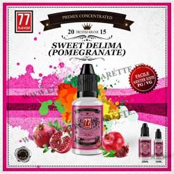 Sweet Delima Premix - 77 Flavor - 10 ou 30 ml