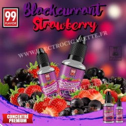 Blackcurrant Strawberry - 99 Flavor - 10 ou 30 ml