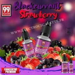 Blackcurrant Strawberry - 99 Flavor - 10 ou 30 ml