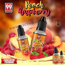 Peach Raspberry - 99 Flavor - 10 ou 30 ml