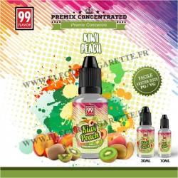 Kiwi Peach Premix - 99 Flavor - 10 ou 30 ml