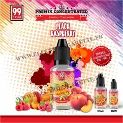 Peach Raspberry Premix - 99 Flavor - 10 ou 30 ml