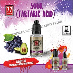 Tartaric Acid - 77 Flavor - Additif