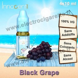 Black Grape - Innocent Cloud - 4x10 ml