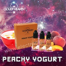 Peachy Yogurt - Cloudy Heaven - 3x10 ml