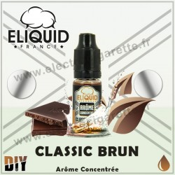 Classic Brun - Eliquid France - 10 ml - Arôme concentré