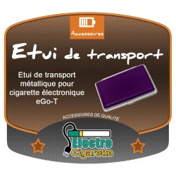 Etui de transport métallique