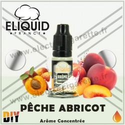 Pêche Abricot - Eliquid France - 10 ml - Arôme concentré