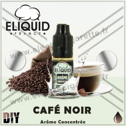 Café Noir - Eliquid France - 10 ml - Arôme concentré