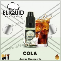 Cola - Eliquid France - 10 ml - Arôme concentré