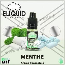 Menthe - Eliquid France - 10 ml - Arôme concentré