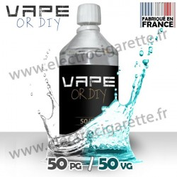 Base 50%PG / 50%VG - Vape Or DiY - 1 Litre - Destock