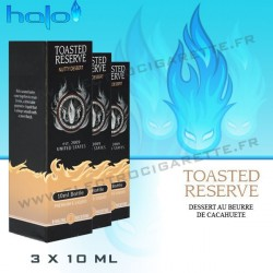 Halo Toasted Reserve - 3x10ml