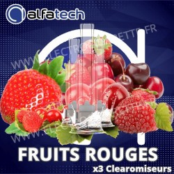Fruits Rouges - AXS 3 x Clearomiseurs - Alfaliquid