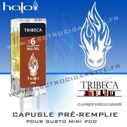 Tribeca - Capsule Pré-Remplie Gusto Mini Pod - Halo