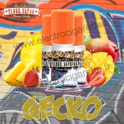 Gecko - Street Art - Cloud Vapor - 3x10 ml