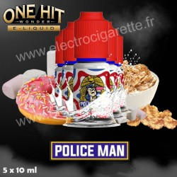 Police Man - One Hit Wonder - 5x10 ml