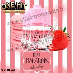 Strawberry Mila's Macaron - One Hit Wonder - 5x10 ml