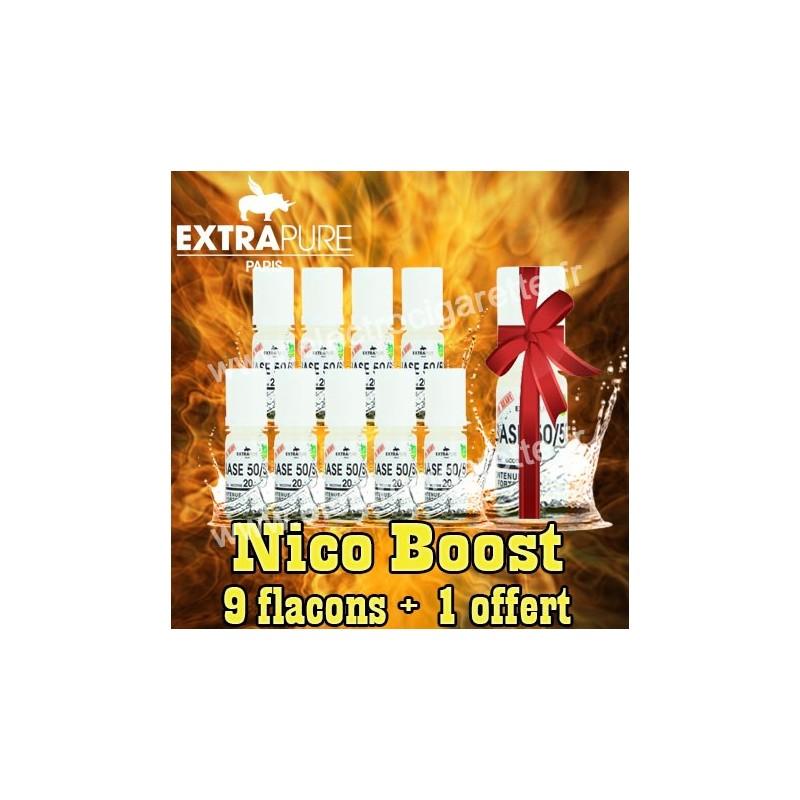 Nico Boost - 9 flacons + 1 offert - ExtraPure