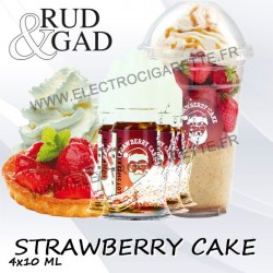 Strawberry Cake - Rud & Gad - 4x10 ml