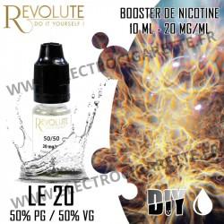 Le 20 - 50% PG / 50% VG - Booster de Nicotine - Revolute