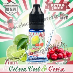 Lime Cherry - Retro Juice DiY - Big Mouth