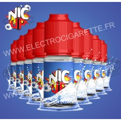 Nic Up - Classic - 9 flacons + 1 offert - 100% VG