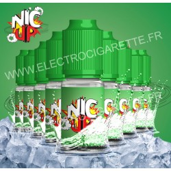 Nic Up - Fresh - 9 flacons + 1 offert - 100% VG