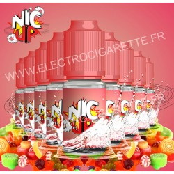 Nic Up - Sweet - 9 flacons + 1 offert - 100% VG
