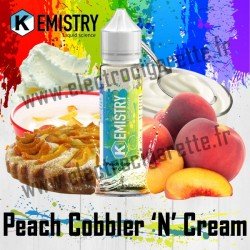 Peach Cobbler 'N' Cream - Kemistry - ZHC 50 ml