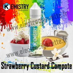 Strawberry Custard Compote - Kemistry - ZHC 50 ml