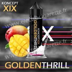 Golden Thrill - Koncept XIX - Vampire Vape - Shake n Vape - ZHC 50ml