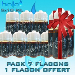 Pack 7 Flacons Halo - 1 Offert - 3x10ml