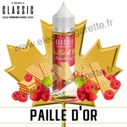 Paille d'Or - Classic E-Juice - ZHC 50 ml